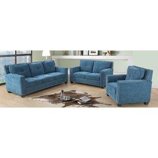 Meranda 3 Piece Living Room Set by Red Barrel Studio®