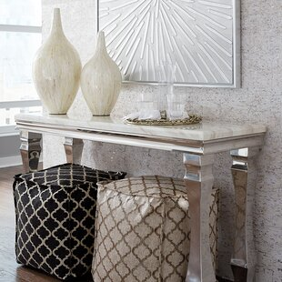Camryn Stainless Steel Console Table