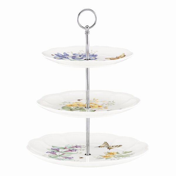 Butterfly Meadow Tiered Stand by Lenox