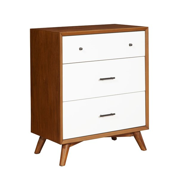 Parocela Two-Tone 3 Drawer Chest by Modern Rustic Interiors