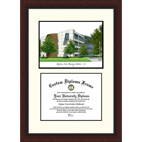 NCAA California State University, Fullerton Legacy Scholar Diploma Picture Frame by Campus Images