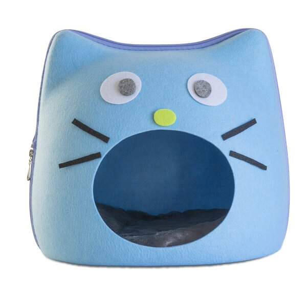 Gladeview Cat Face Felt Dome by Tucker Murphy Pet