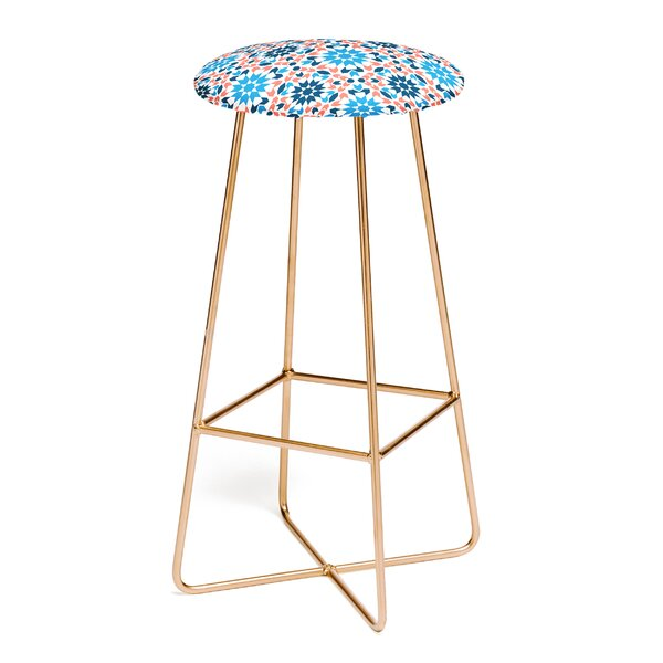 Zoe Wodarz Sunbaked Arrow Tile 30 Bar Stool by East Urban Home