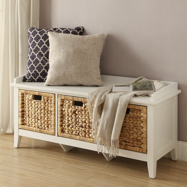 Flavius Wood Storage Bench by ACME Furniture