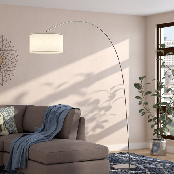 Kody 81 Arched Floor Lamp by Langley Street