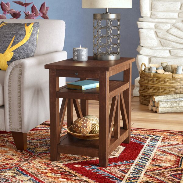 Boquillas Chairside Table by Loon Peak