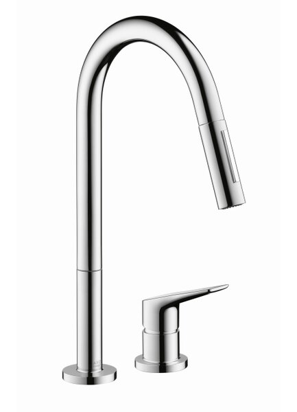 Axor Citterio Pull Down Single Handle Kitchen Faucet by Axor