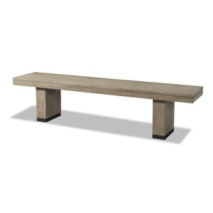 Kadence Wood Bench by Loon Peak