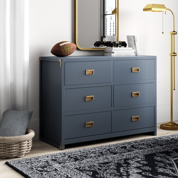 Benbrook 6 Drawer Double ...