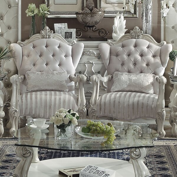 Welton Wingback Chair by Astoria Grand Astoria Grand