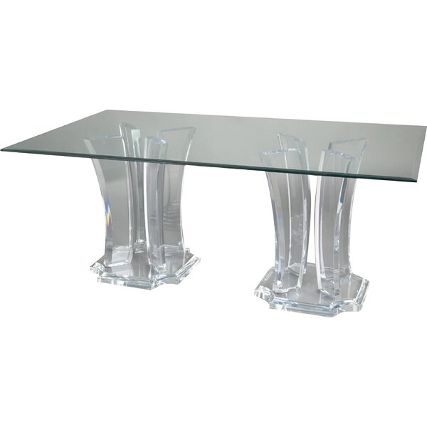 Milano Double Base Dining Table by Muniz