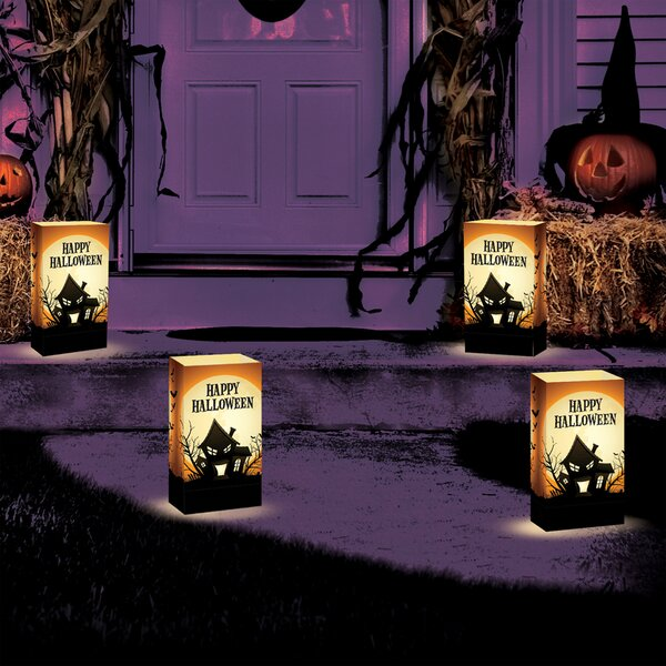 Haunted House Luminary (Set of 24) by Luminarias