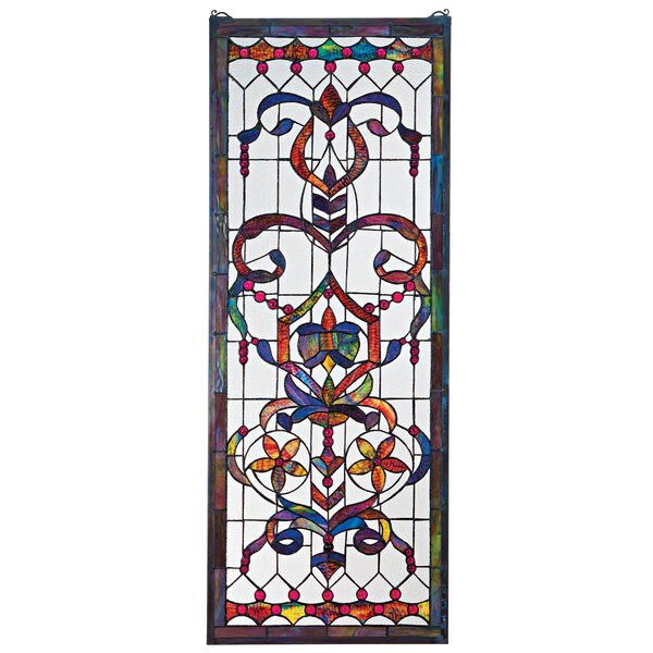 Delaney Manor Stained Glass Window by Design Toscano