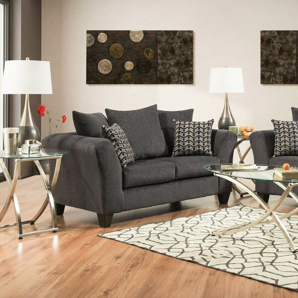 Buy Online Discount Strohm Loveseat by Wrought Studio by Wrought Studio