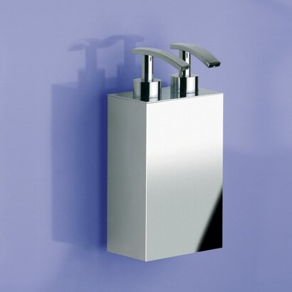 Wall Mounted Brass Two Pumps Soap Dispenser by Windisch by Nameeks