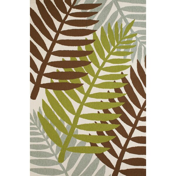 Sunbelt Hand-Woven Lime/Brown Indoor/Outdoor Area Rug by Panama Jack Home