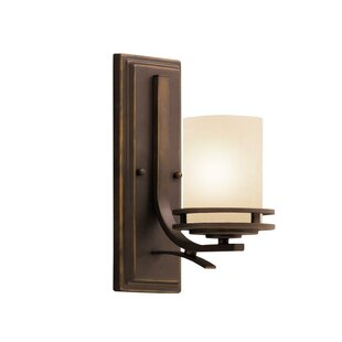 Price comparison Clarkshire 1-Light Wall Sconce By Andover Mills