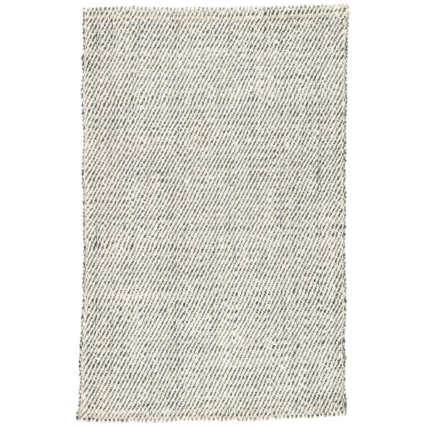 Alcott Hand-Loomed White/Gray Area Rug by Williston Forge