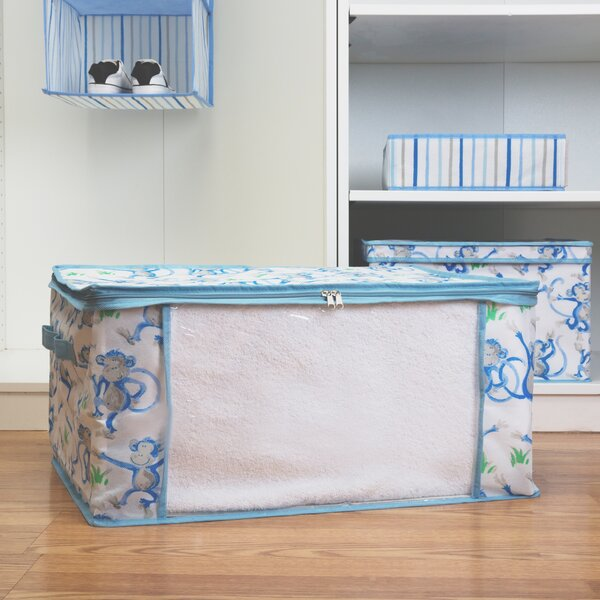 Kids Blanket Fabric Box in Cheeky Monkey by Laura Ashley Home