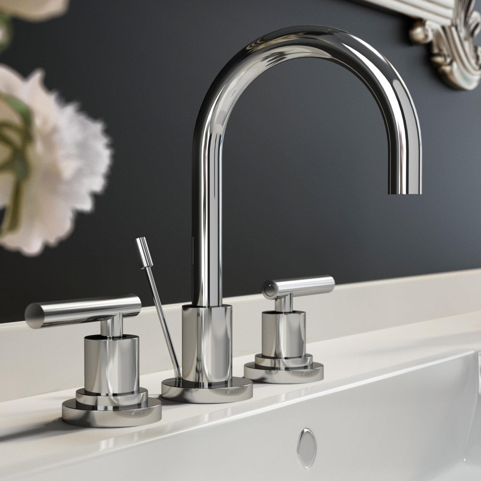Jacuzzi® Salone Widespread Bathroom Faucet & Reviews | Wayfair