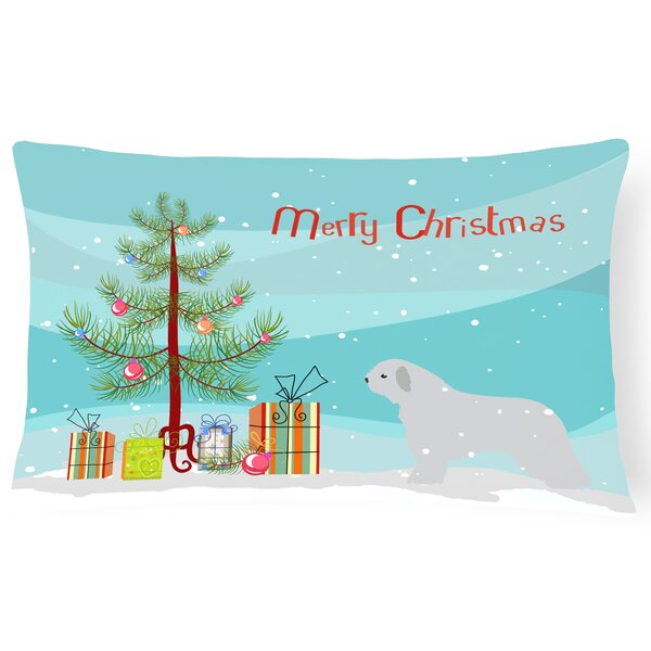 Spanish Water Dog Indoor/Outdoor Lumbar Pillow by The Holiday Aisle