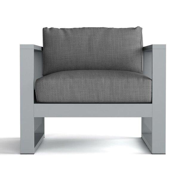 Granham Deep Seating Patio Chair with Sunbrella Cushions by Brayden Studio