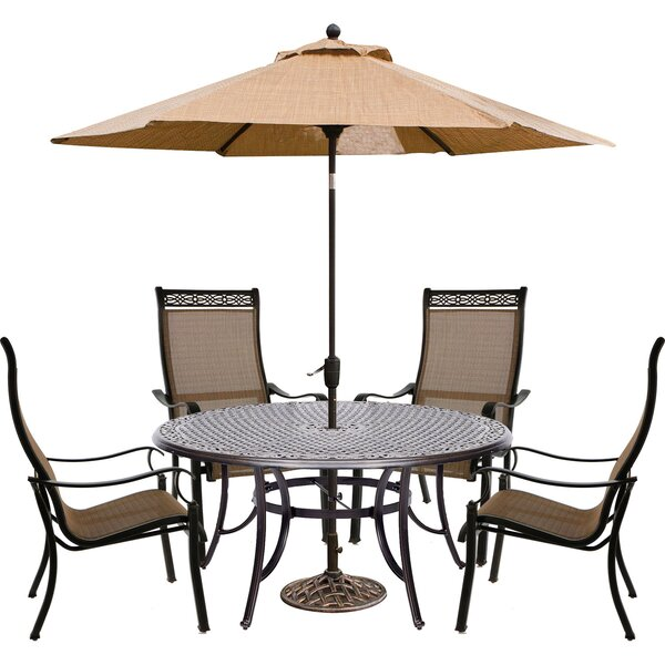 Buariki 6 Piece Dining Set by Fleur De Lis Living