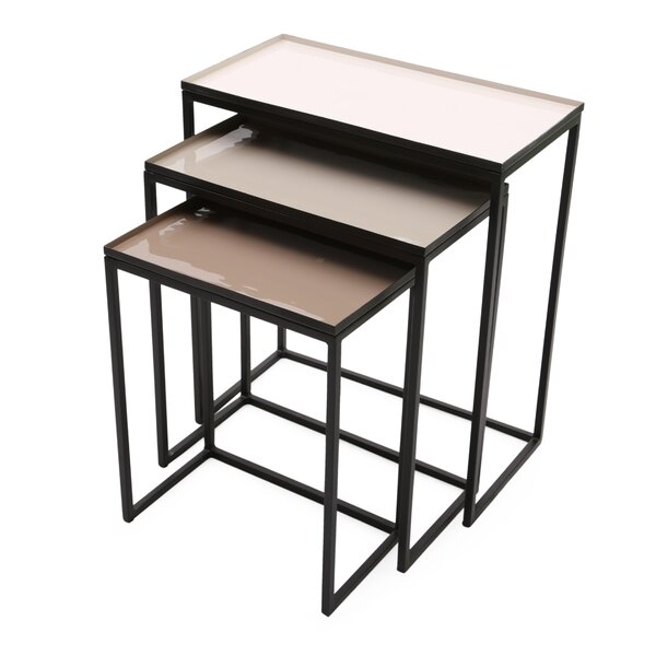 Maryann 3 Piece Nesting Tables by Alcott Hill Alcott Hill