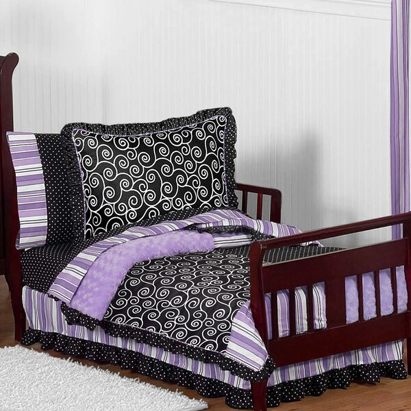 Kaylee 5 Piece Toddler Bedding Set by Sweet Jojo Designs