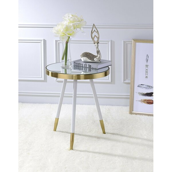 Kleckner Mirror End Table by Mercer41