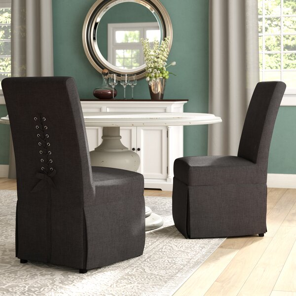 Benton Upholstered Side Chair (Set of 2) by Red Barrel Studio