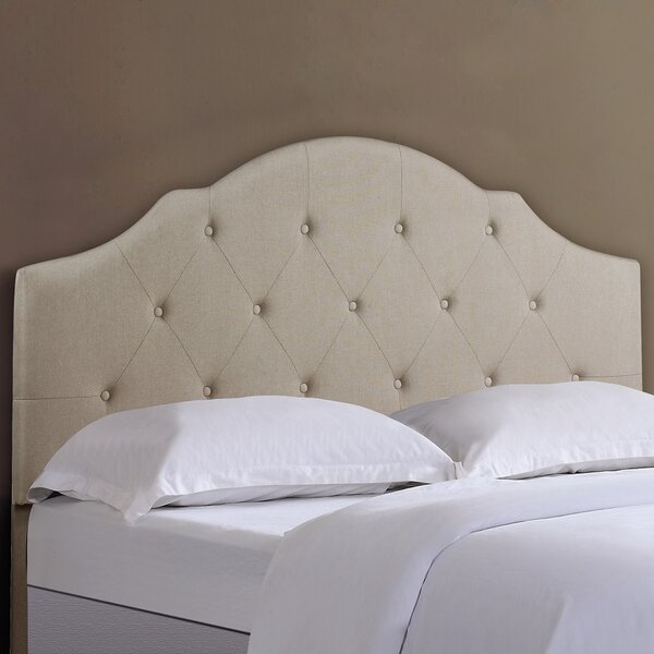 Morrisville Full/Queen Upholstered Panel Headboard by House of Hampton