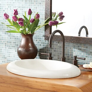 Best Reviews Cuyama Stone Oval Drop-In Bathroom Sink By Native Trails, Inc.