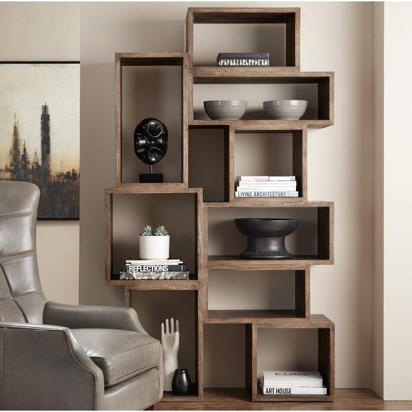 Shivansh Geometric Bookcase By Foundry Select