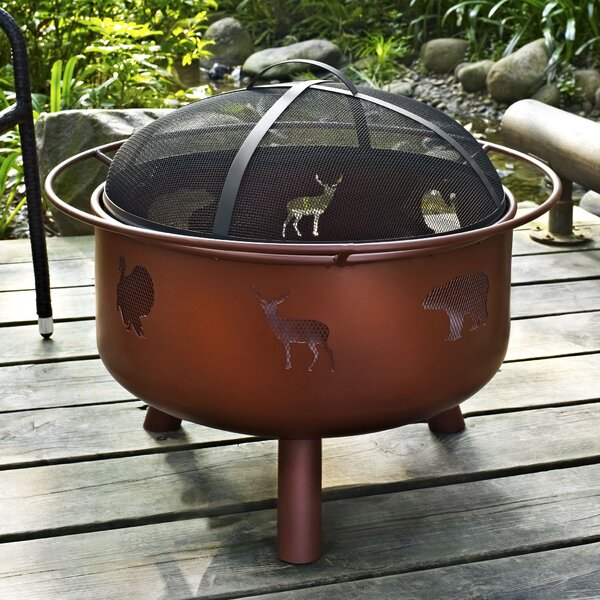 Durango Steel Wood Burning Fire Pit by Crosley