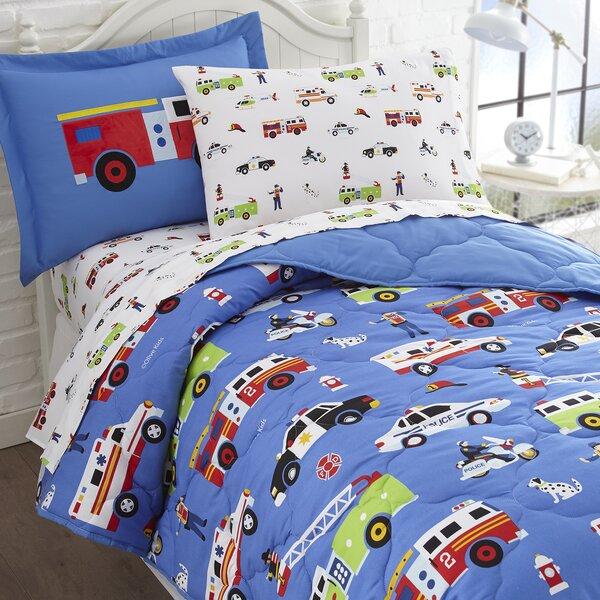 Heroes Comforter Set by Wildkin