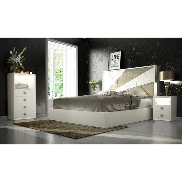Helotes King Platform 4 Piece Bedroom Set by Orren Ellis