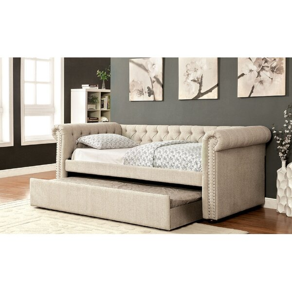 Tolleson Twin Daybed with Trundle by Canora Grey Canora Grey