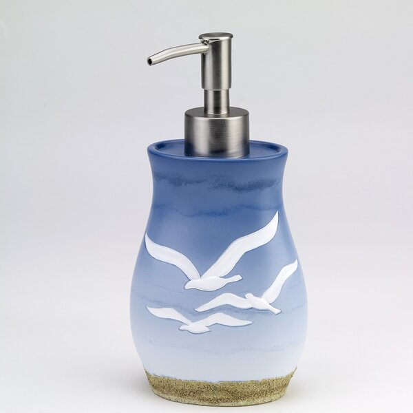 Seagull Lotion and Soap Dispenser by Avanti Linens