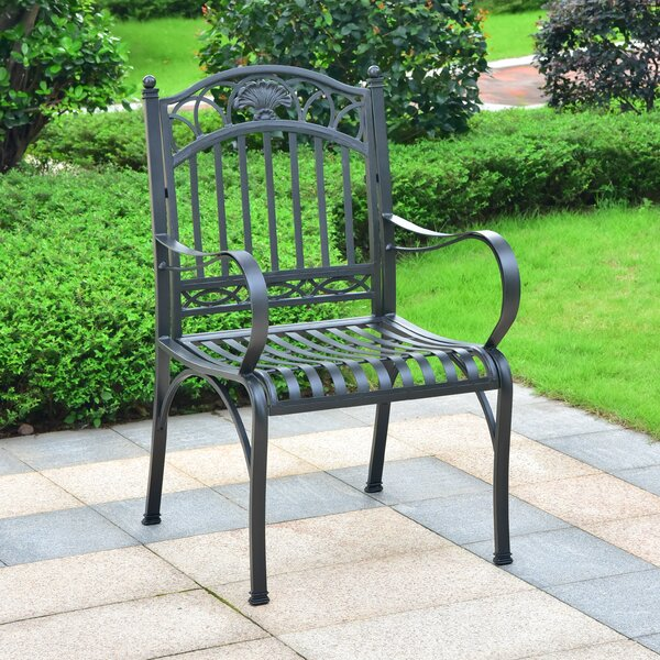 Aracely Patio Dining Chair (Set of 2) by Alcott Hill