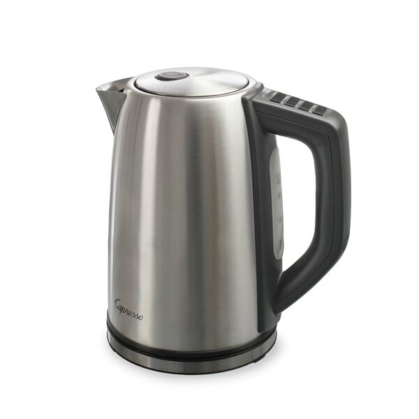 H2O 1.78-qt. Stainless Steel Plus Variable Temperature Water Kettle by Capresso