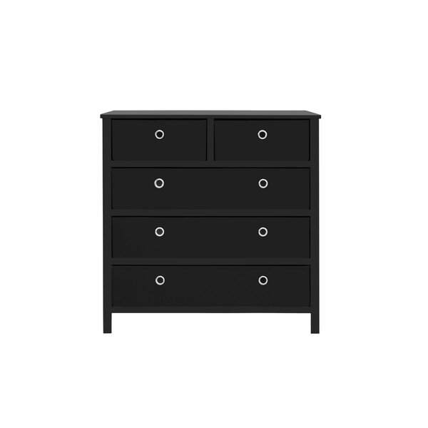 Leiser Split 5 Drawer Bachelors Chest by Ebern Designs