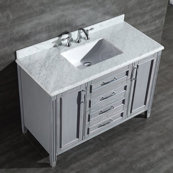 Daniel 48 Single Bathroom Vanity Set by Ove Decors