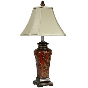 Order Sibdon Crimson Floral 30 Table Lamp By Astoria Grand