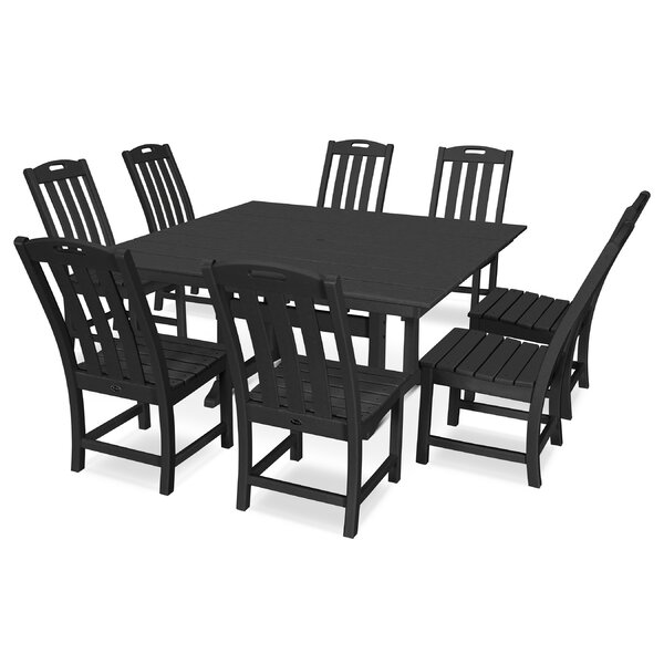 Yacht Club 9 Piece Dining Set by Trex Outdoor