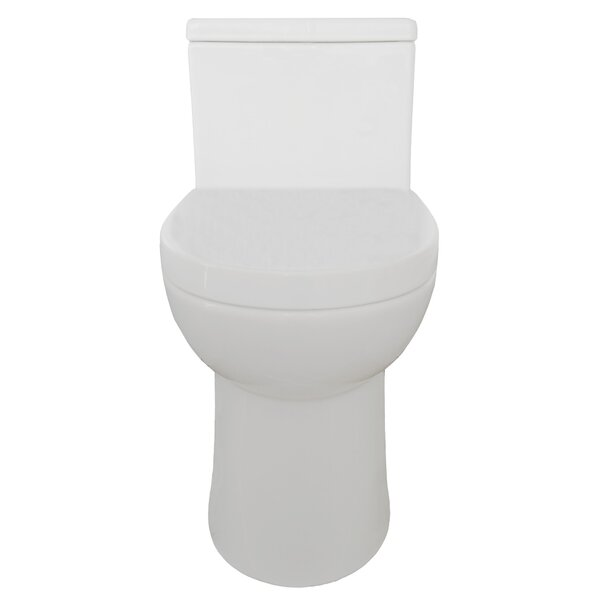 Standy 1.28 GPF Elongated One-Piece Toilet by Eviva