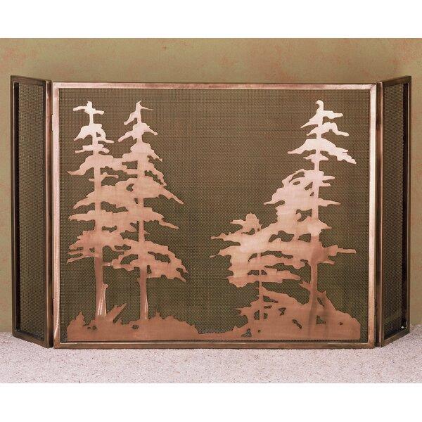 Tall 3 Panel Fireplace Screen By Meyda Tiffany