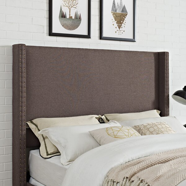 Benedict Upholstered Panel Headboard by Alcott Hill