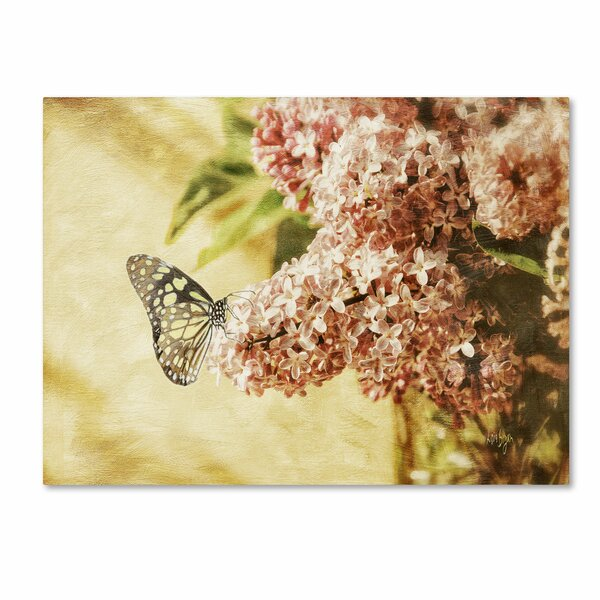 Sweet Lilacs by Lois Bryan Photographic Print on Wrapped Canvas by Trademark Fine Art