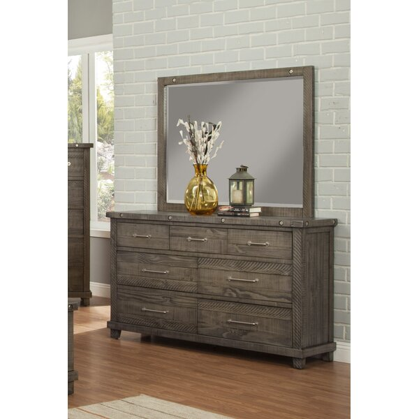 Rebekah 7 Drawer Dresser with Mirror by Gracie Oaks